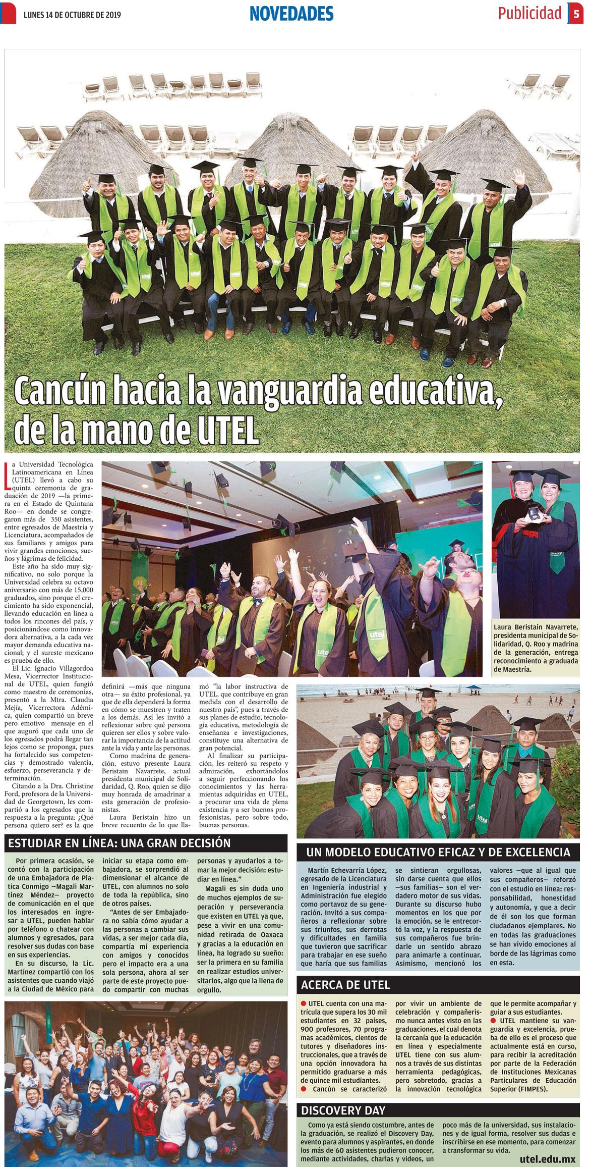 UTEL se consolida en Monterrey